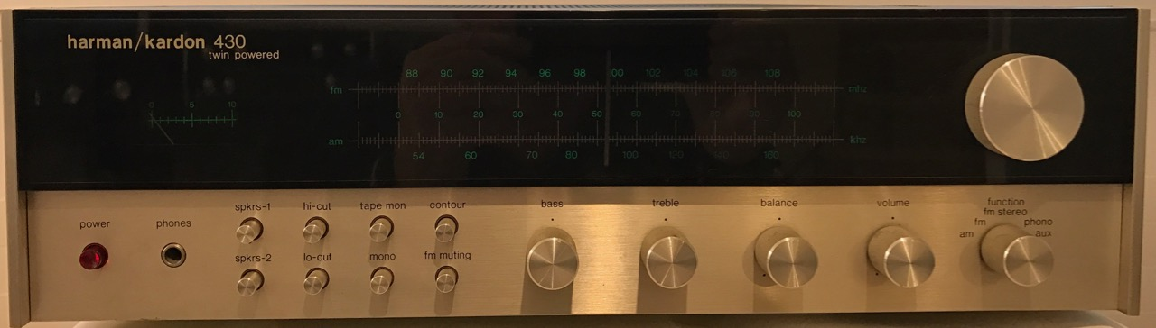 Receiver Harman/Kardon 430