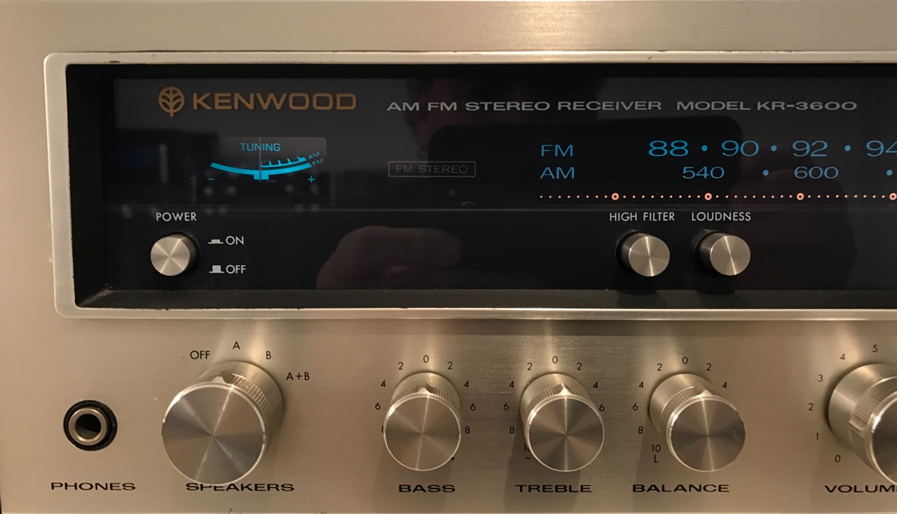 Receiver Kenwood Model KR-3600