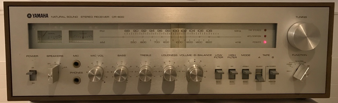 Receiver Yamaha CR-600
