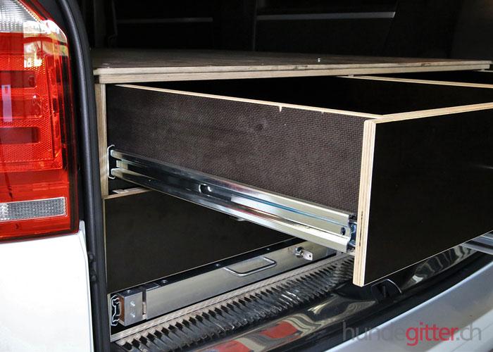 schubladen schaffen ordnung und bersicht in ihrem wagen. Black Bedroom Furniture Sets. Home Design Ideas