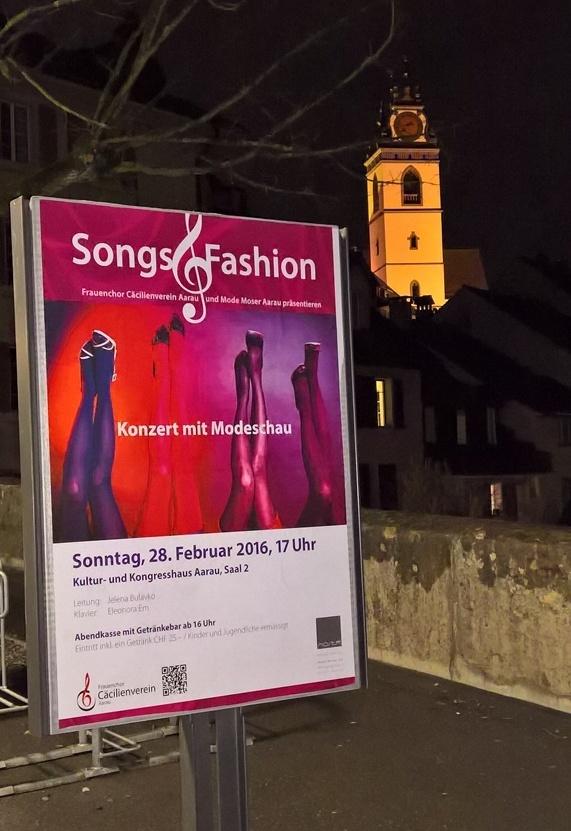 Vereinsseite Frauenchor Aarau