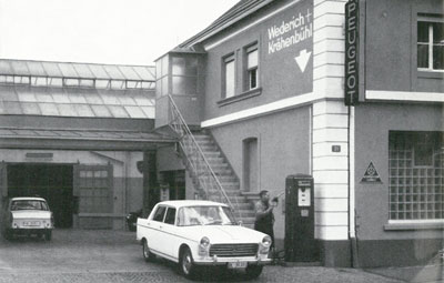 1962 Peugeot Garage in Basel