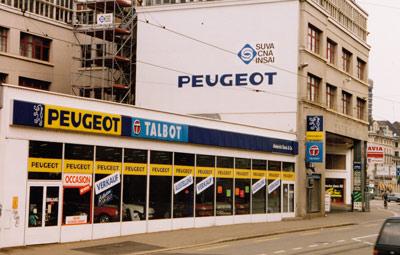 1990 Peugeot Filiale Basel