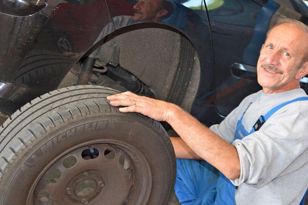 Reifen- und Radwechsel
