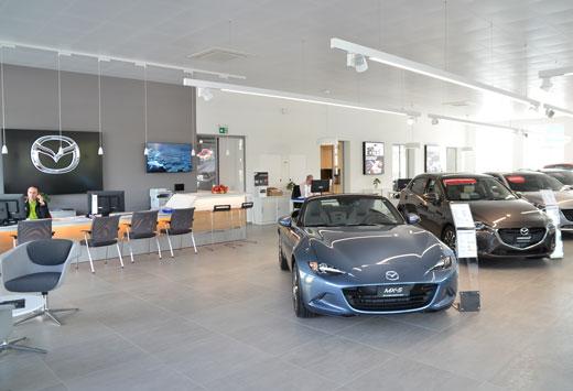 Mazda Neuwagen Showroom Muttenz-Basel