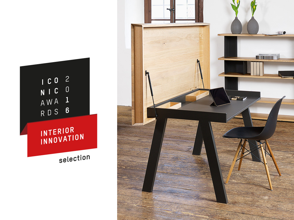 Iconic Award for the dining and working table Celerina